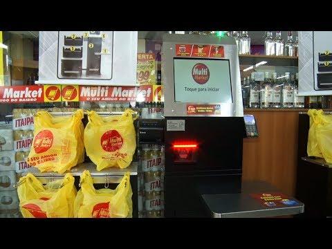 Supermercado de Teresópolis aposta no autoatendimento para reduzir filas