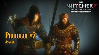 Witcher 2 Hard moded ultra HQ sweet fx Prologue part2 Assault