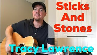 Sticks And Stones | Tracy Lawrence | Beginner Guitar Lesson