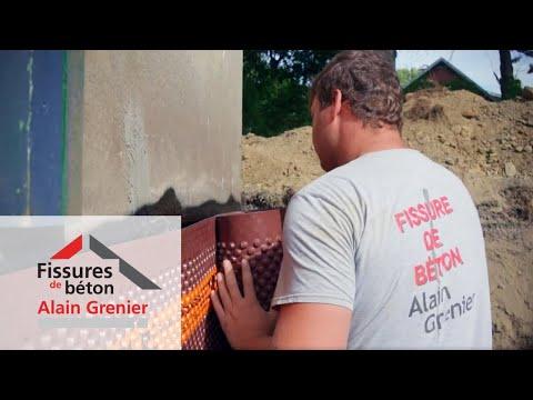 Fissures de béton Alain Grenier