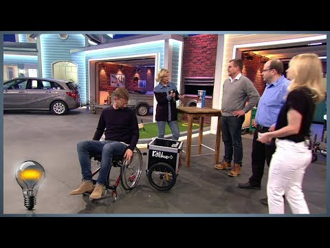 Rollikup - Die Anhängerkupplung für den Rollstuhl - Das Ding des Jahres