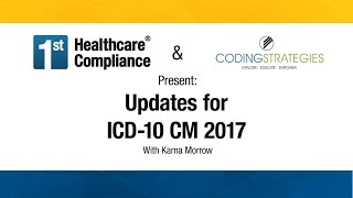 Updates for ICD 10 CM 2017