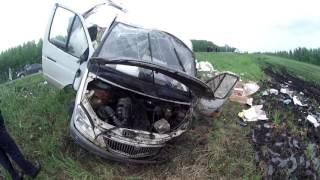 Страшное ДТП в Мордовии: «Газель» буквально разорвало на части