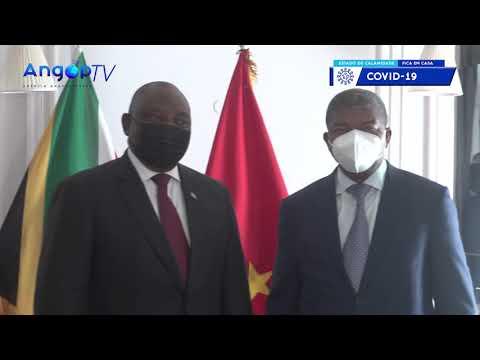ANGOLA E ÁFRICA DO SUL ANALISAM COOPERAÇÃO BILATERAL