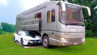 تبدوا حافلة عادية من الخارج ولكن لن تصدق شكلها من الداخل