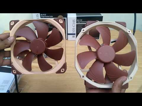 Noctua NF-A14 and NF-A15 Fans Unboxing