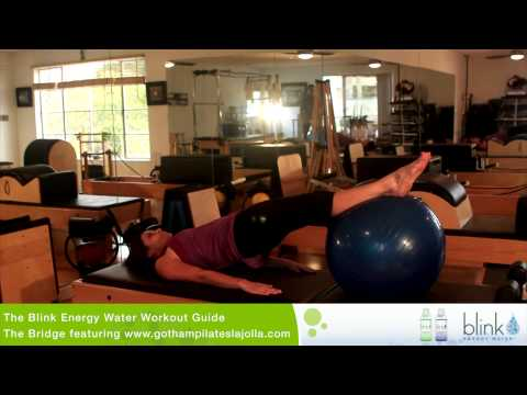 Blink Energy Water Workout Guide – The Bridge by Gotham Pilates