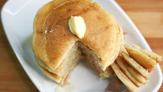 pancake recipe with baking soda and milk