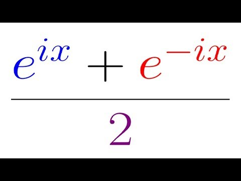 Using Euler's Formula to find the derivative of Cosine