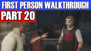 GTA 5 First Person Gameplay Walkthrough Part 20 - SNIPER ELITE! | GTA 5 First Person