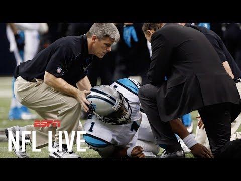 Adam Schefter agrees Panthers handled Cam Newton injury justly   NFL Live   ESPN