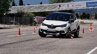 Vídeo | Renault Captur - Esquiva y eslalon