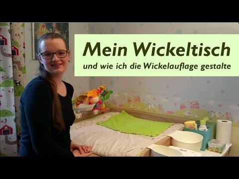 Mein Wickeltisch und wie ich die Wickelauflage gestalte | Meine Wickelkommode im Kinderzimmer