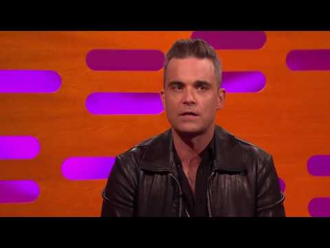 Robbie Williams tells a story on The Graham Norton Show that leaves Anna Kendrick speechless