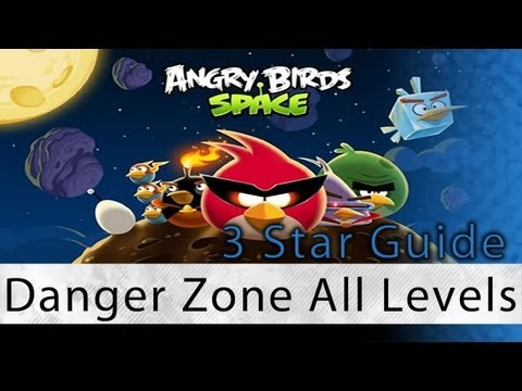Angry Birds Space - Danger Zone All Levels 3 Star Walkthrough D-1 Thru D-30 | WikiGameGuides Mp3