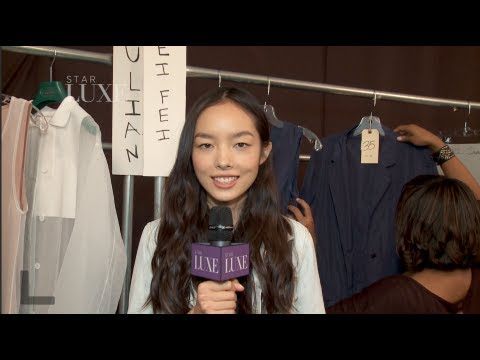 Fei Fei Sun 孫菲菲: Top Fashion Week Model at Lacoste Fashion show