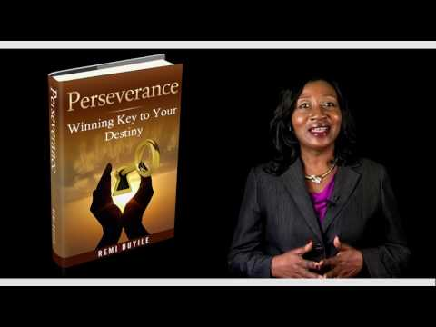 Perseverance Winning Key to Your Destiny Book launch
