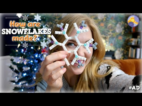 How are Snowflakes Made? (Let's find out with LEGO bricks!) | Maddie Moate