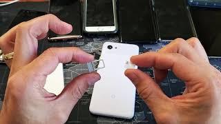 Google PIxel 3a & 3a XL: How To Insert Sim Card Properly