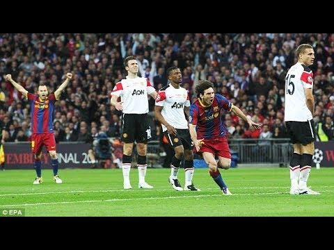 Manchester United vs Barcelona 1-3 - UCL FINAL 2011 -HD