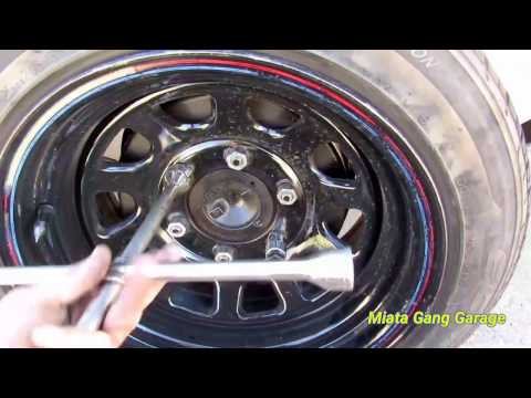 Nissan Hardbody Skateboard Wheels As Bump Stops