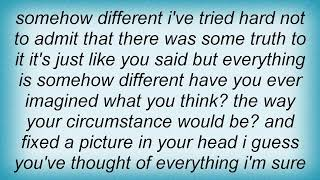 Face To Face - Just Like You Said Lyrics