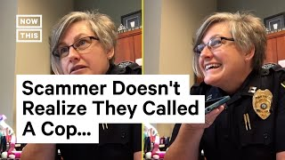 Phone Scammer Gets Scammed by Police Captain | NowThis