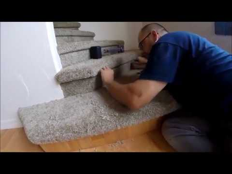 CARPETING ODD SHAPED STEPS 1 5 RISER INSTALL