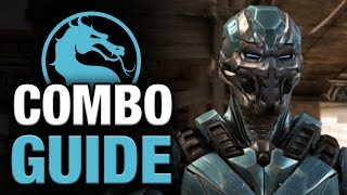 CYBER SUB-ZERO COMBO GUIDE (Triborg) - Easy to Advanced - Mortal Kombat X [HD 60fps]