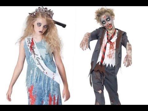 Disfraz de zombie para niños