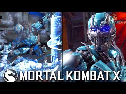 PLAYING CYBER SUB-ZERO FOR THE FIRST TIME IN A WHILE - Mortal Kombat X: