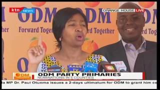 Nyamira governor John Nyagarama cites voter irregularities in the nomination process: News Desk pt 1