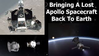 Apollo 10's Lunar Module Snoopy Is Lost In Space - Could We Bring it Home?