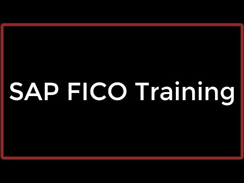 SAP FICO Training - Introduction to SAP and FI-CO (Video 1)   SAP ...