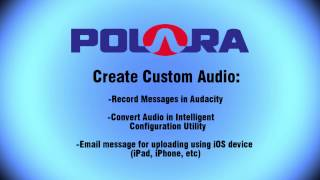 PC - Recording/Converting Custom Voice Messages