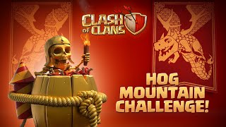 Hog Mountain Challenge Is On! (Clash Of Clans Lunar New Year Special)