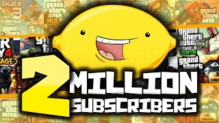 2 MILLION SUBSCRIBERS! - Best of TheGamingLemon Montage #2 - (Funny Moments)