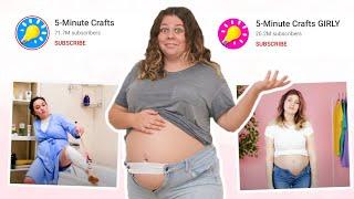 Testing 5 Minute Crafts Pregnancy Hacks!