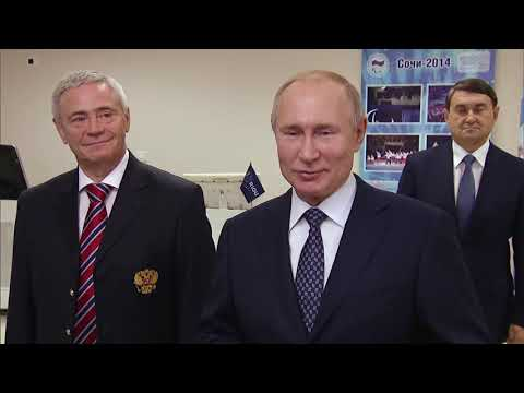 Беседа В.В. Путина со спортсменами-паралимпийцами 3 декабря 2019 г.