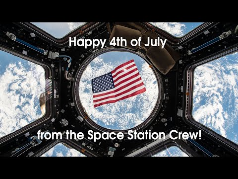 Happy 4th of July From Space