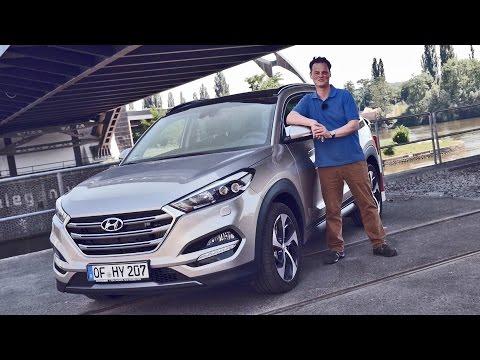 Test Drive 2016 Hyundai Tucson