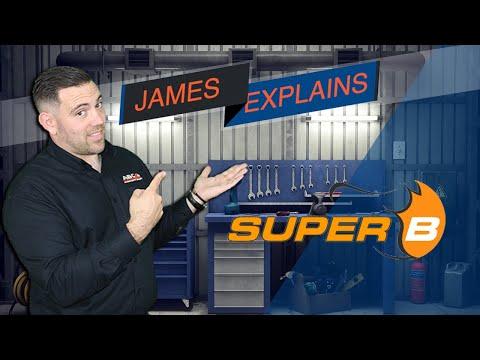 SuperB Lightweight Lithium Batteries
