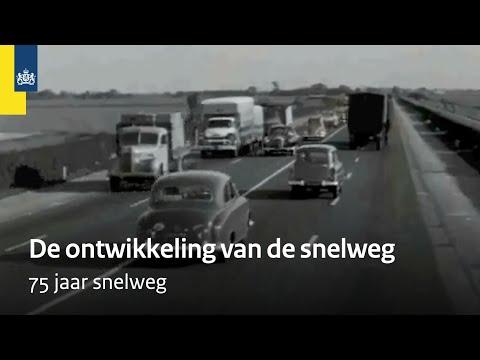 75 jaar snelweg Rijkswaterstaat