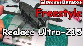 Realacc Ultra-215 215mm - Frame para Drones de Freestyle