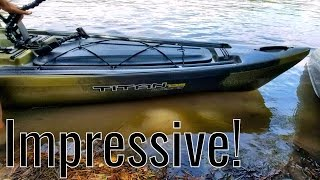 ***REVIEW*** NEW 2017 Native TITAN Propel 13.5 KAYAK. ACK Texas Kayak Demo