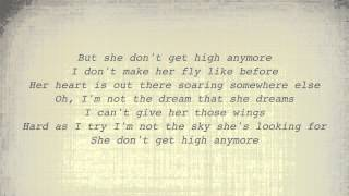 Alan Jackson - She Don't Get High (Lyrics)