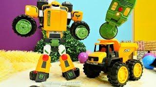 Tobot T dönüşümü! Yeni Transformers oyunu izle!