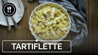 CÓMO hacer TARTIFLETTE, el popular PASTEL de PATATA, BACON y QUESO francés | Directo al paladar
