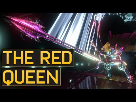 The Color Red - Broken Queen Valkyr - Warframe