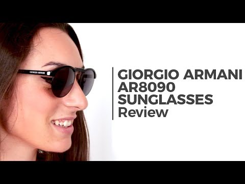 Giorgio Armani AR8090 Sunglasses Review | VisionDirect